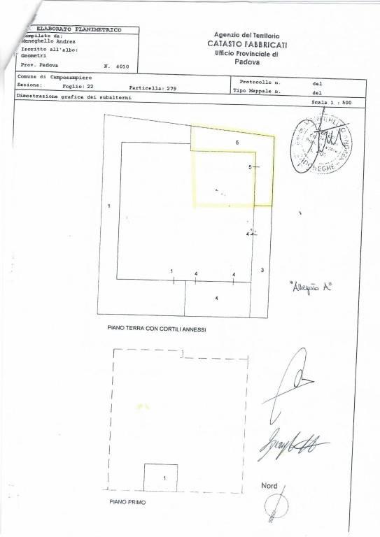 CAPANNONE IN VENDITA A CAMPOSAMPIERO Rif. 8609685