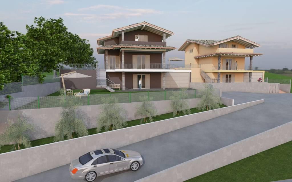Villa in vendita via Gagnago Borgo Ticino
