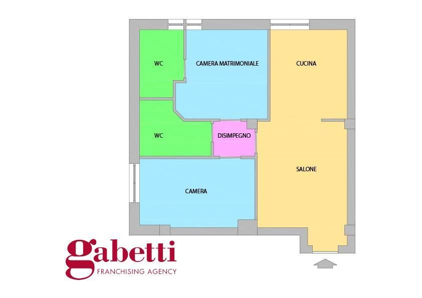 Appartamento in ottime condizioni in vendita Rif. 8650600