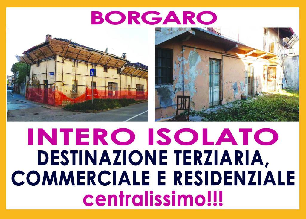 Palazzo / Stabile in Vendita a Borgaro Torinese