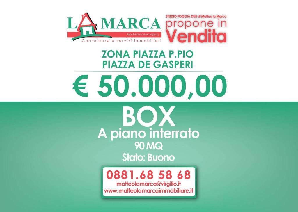 Piazza de Gasperi - Zona Piazza Padre Pio Rif. 8690725