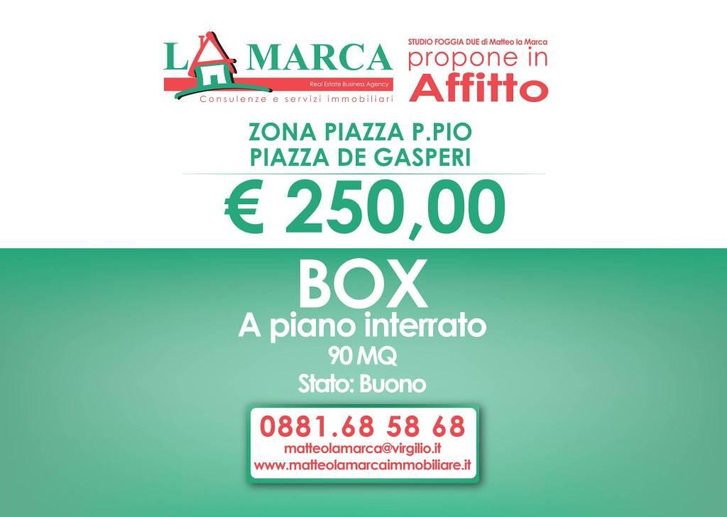 Piazza de Gasperi - Zona Piazza Padre Pio Rif. 8690726