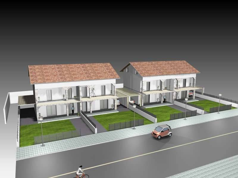 Mendicino villetta bifamiliare nuova costruzione