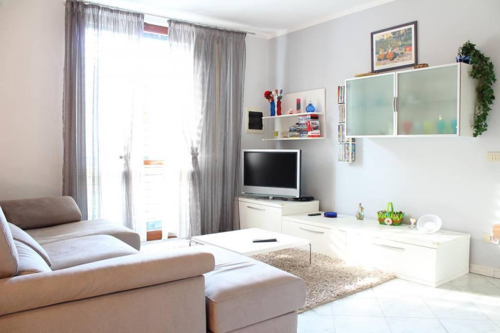 Appartamento con grande giardino e garage