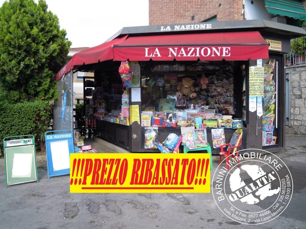 "Vendesi Edicola in Siena ""ESCLUSIVA"" Rif. 7414468"