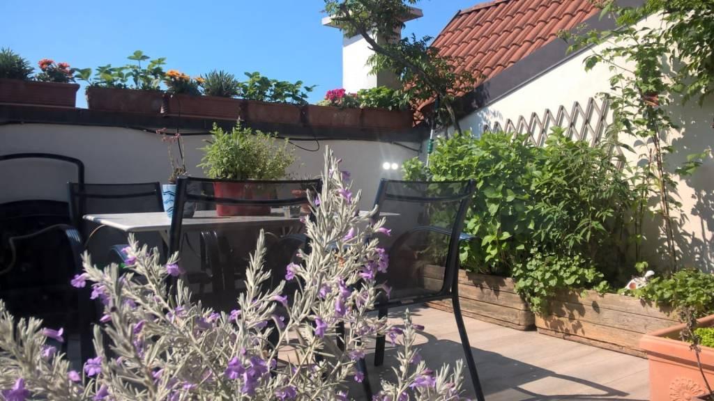 Duplex con terrazzo e solarium