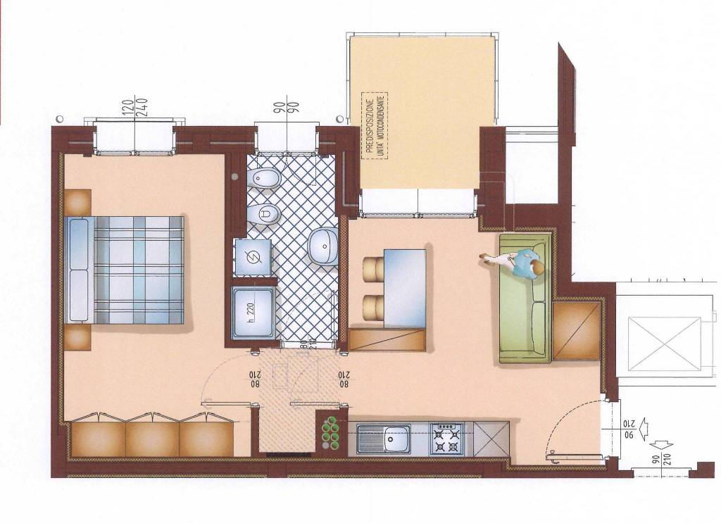 Appartamento in affitto Rif. 9147445