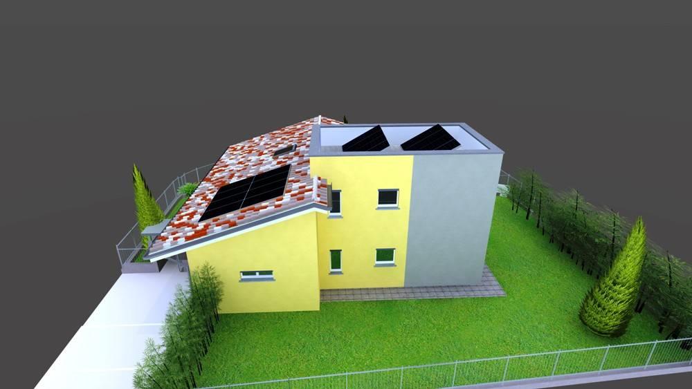 Nuova villa bifamiliare