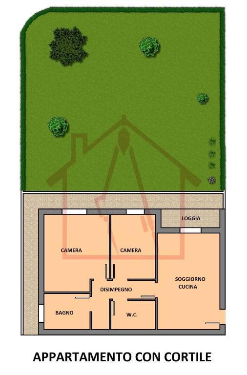 Appartamento in ottime condizioni in affitto Rif. 8828814