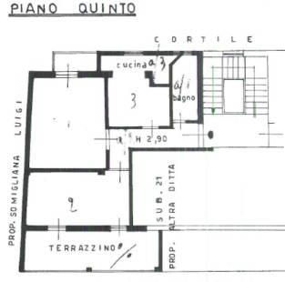 Appartamento in buone condizioni in vendita Rif. 8849964