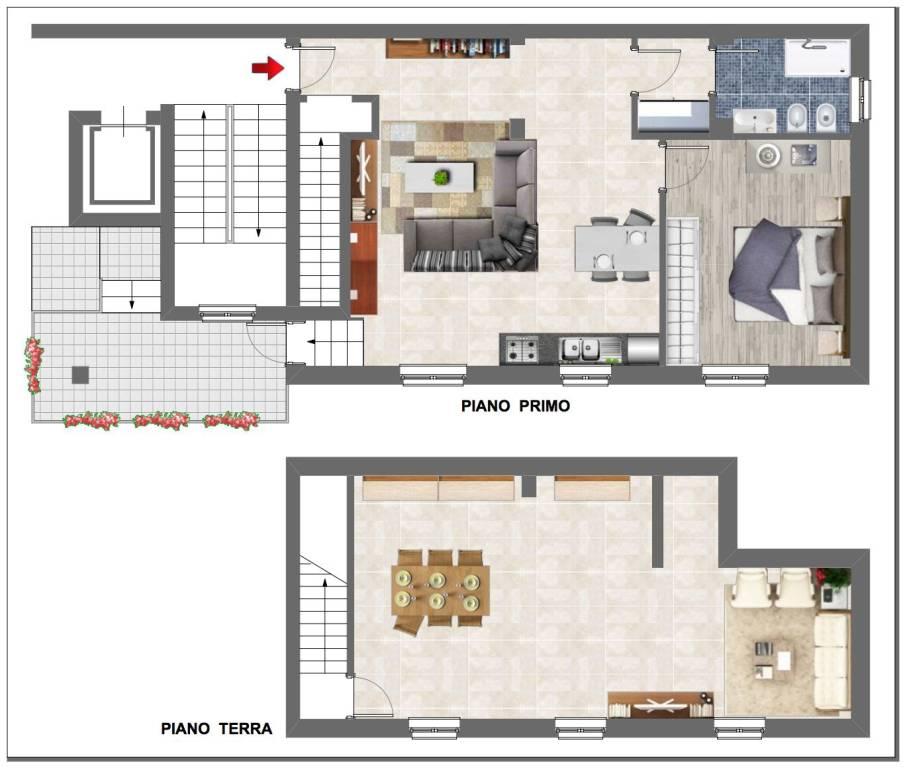 Appartamento in ottime condizioni in vendita Rif. 8863080