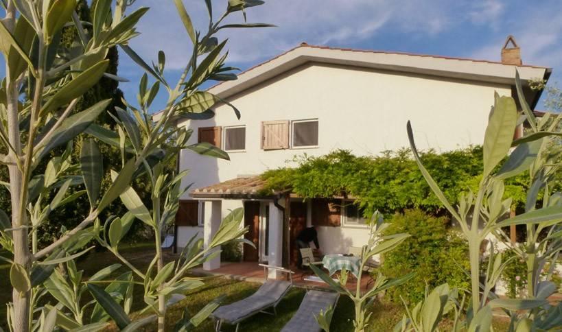 Villa Il Poggetto, porzione di casale a Saturnia