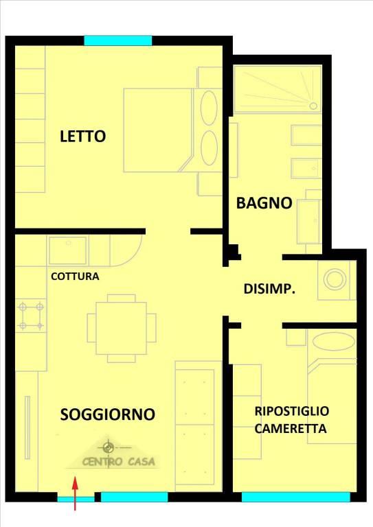 Appartamento in vendita Rif. 8887727