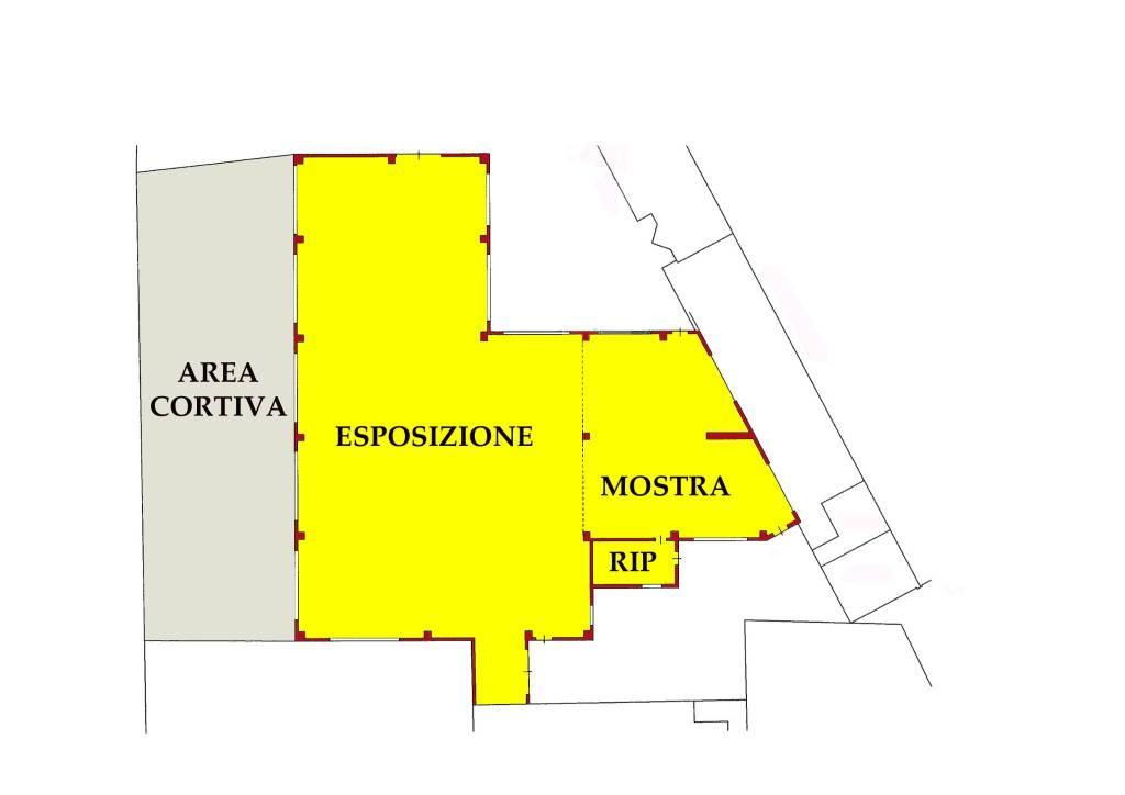 VENDO LOCALE COMMERCIALE ESPOSITIVO PIEVE DI CORIANO MN Rif. 8895364