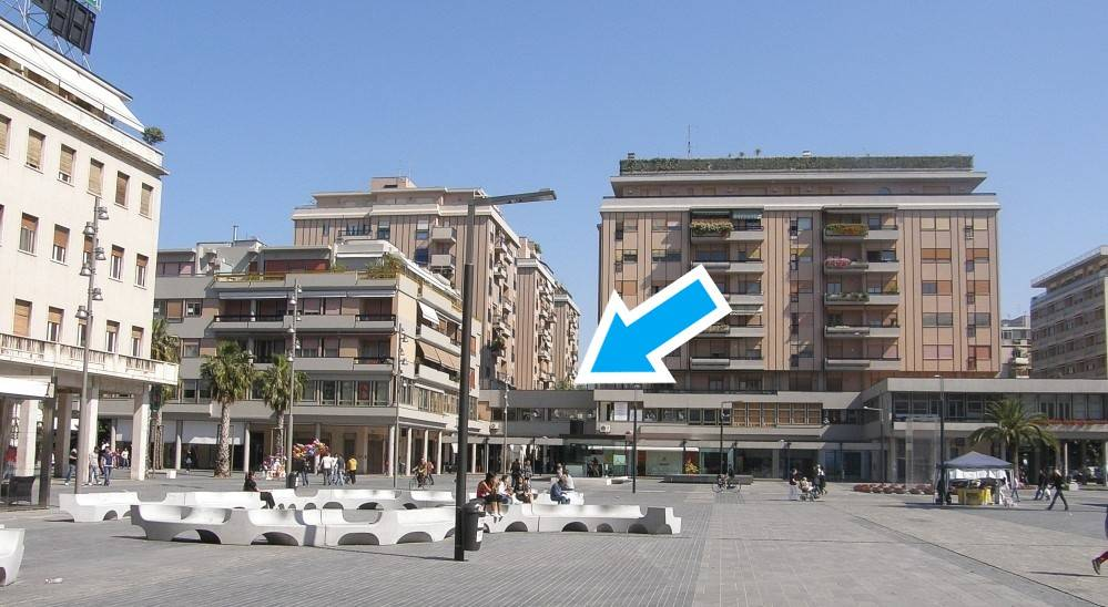 Attico al primo piano di Piazza Salotto