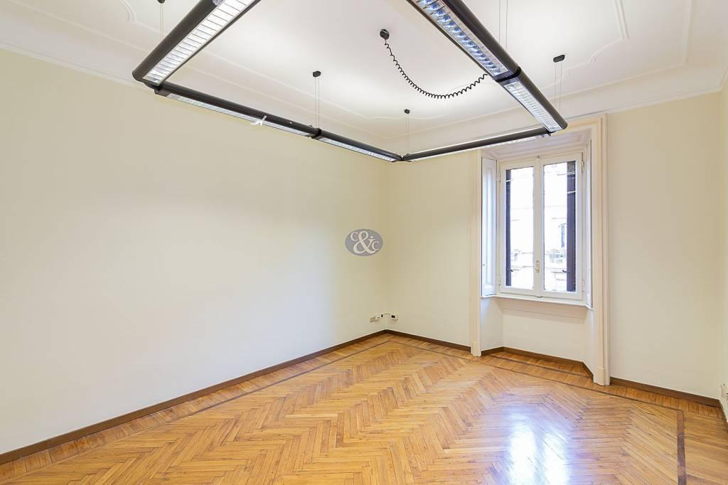Ufficio in affitto via Giovanni Boccaccio 14 Milano