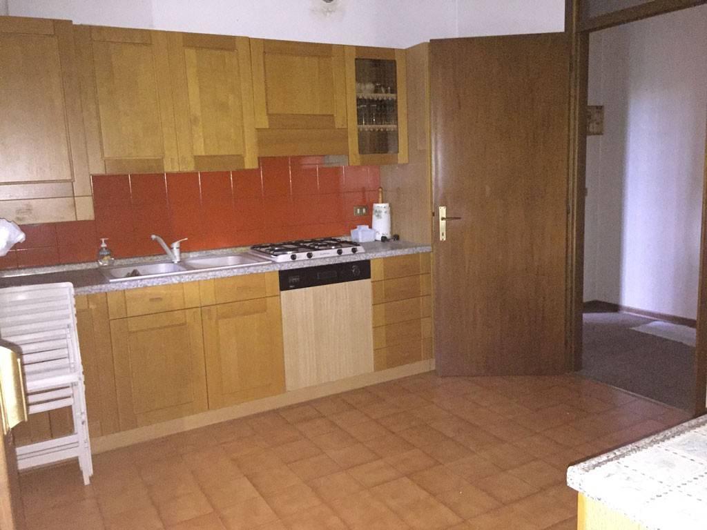 Spazioso appartamento tre camere al piano terra