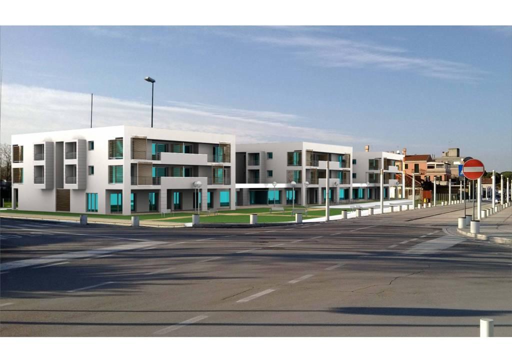 Quadrilocali con doppi servizi in centro a Ca' Savio