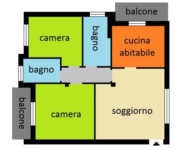 Appartamento in vendita Rif. 4840569