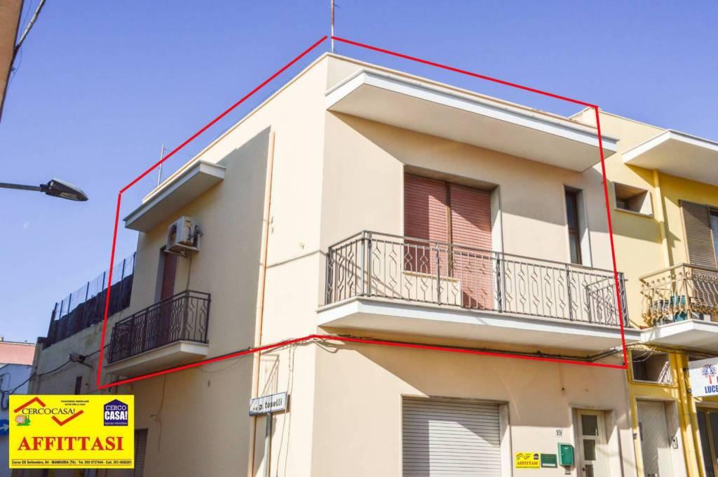 Manduria, via Bell'Acqua, affitto per ufficio. Rif. 8961111