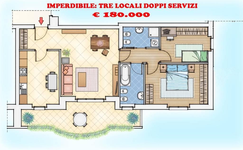 Appartamento in vendita Rif. 6214818