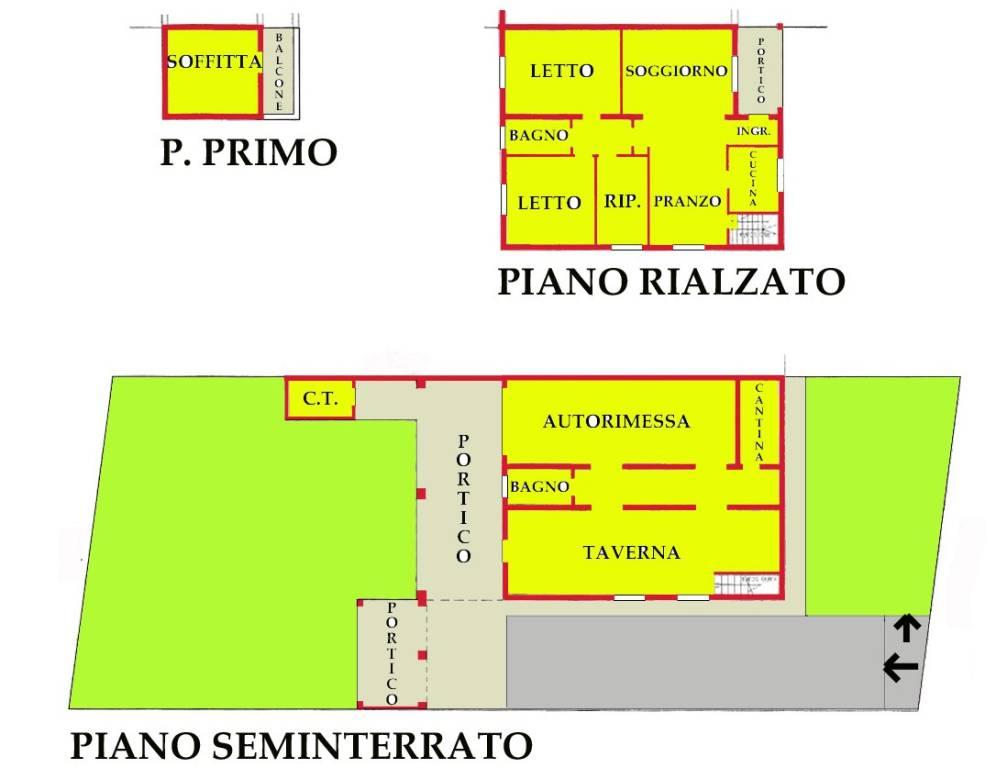 Villa in vendita a Marcaria, 6 locali, prezzo € 41.766 | CambioCasa.it