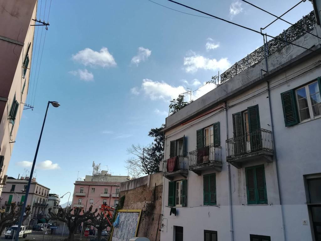 Via Precanica adiacente Piazza San Vincenzo