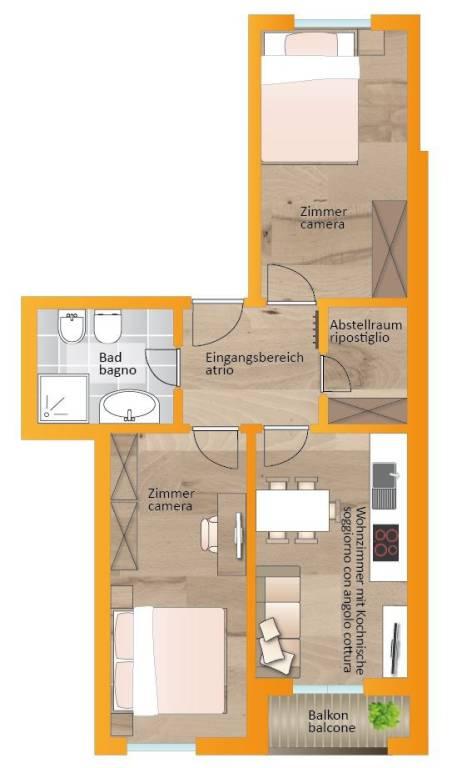 Appartamento in buone condizioni in vendita Rif. 9122657