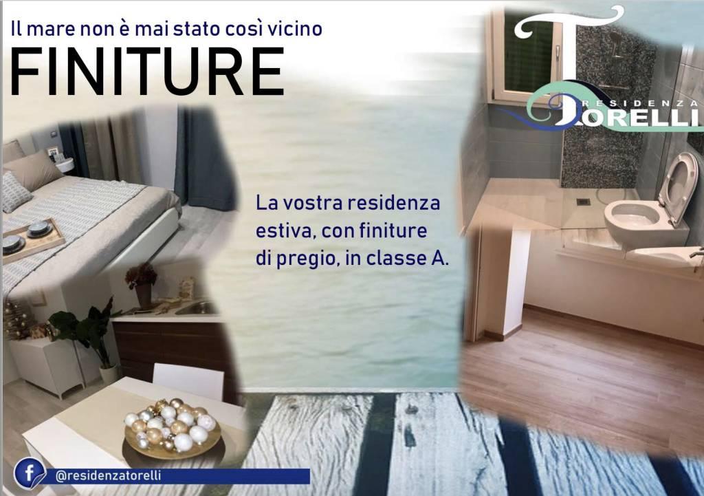 Residenza Torelli - nuova costruzione adagiata sulla sabbia.