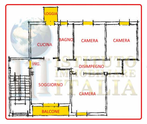 Foto 2 di Appartamento Via Anacleto Gavina 3, Imola