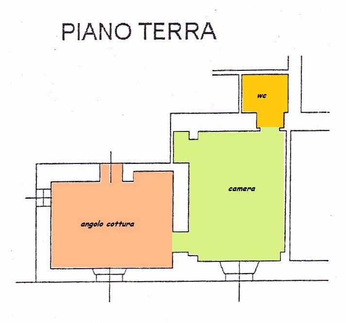 BILOCALE PIANO TERRA (rif: Ah)