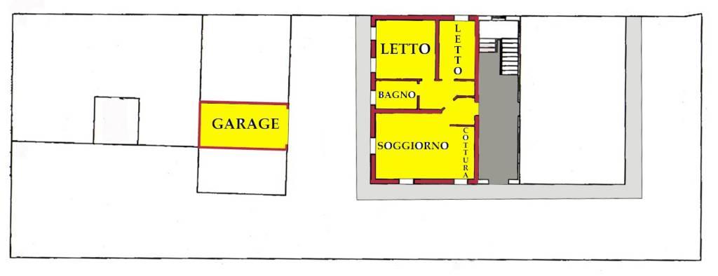 Appartamento in buone condizioni in vendita Rif. 9174747