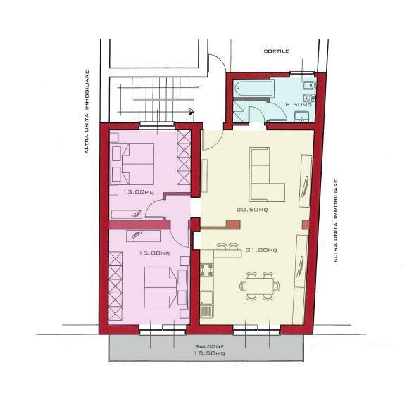 Appartamento in ottime condizioni in vendita Rif. 8921756
