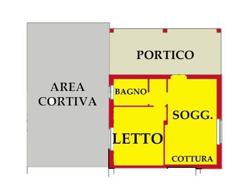 Appartamento in vendita a Volta Mantovana, 2 locali, prezzo € 45.326 | CambioCasa.it