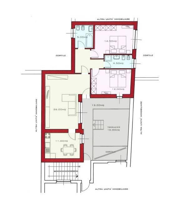 Appartamento in ottime condizioni in vendita Rif. 8921757