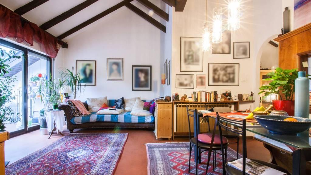 Splendida mansarda nel centro storico di Merano