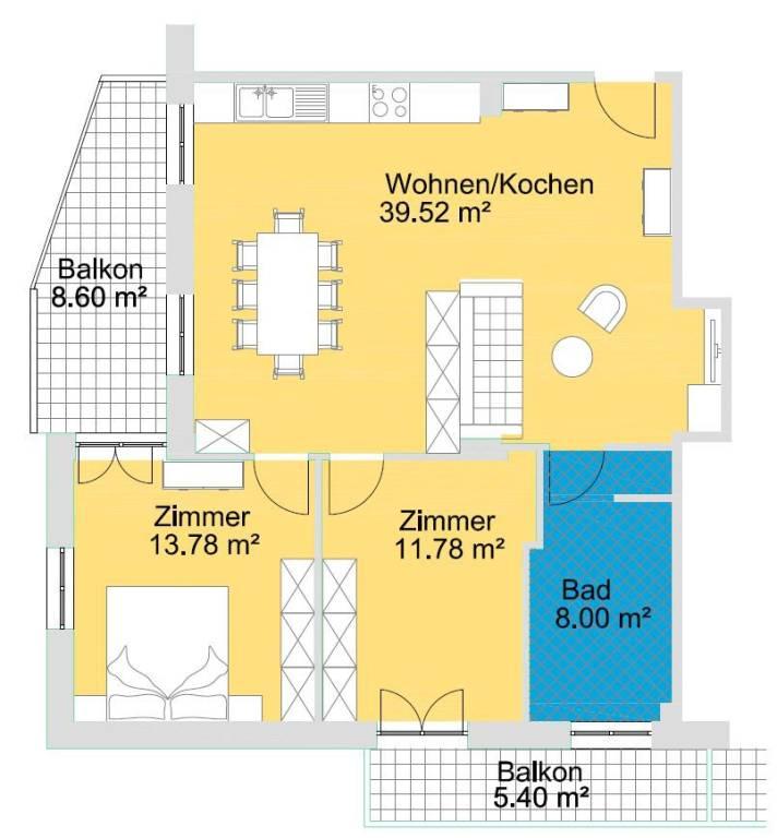 Appartamento in ottime condizioni parzialmente arredato in vendita Rif. 9244733