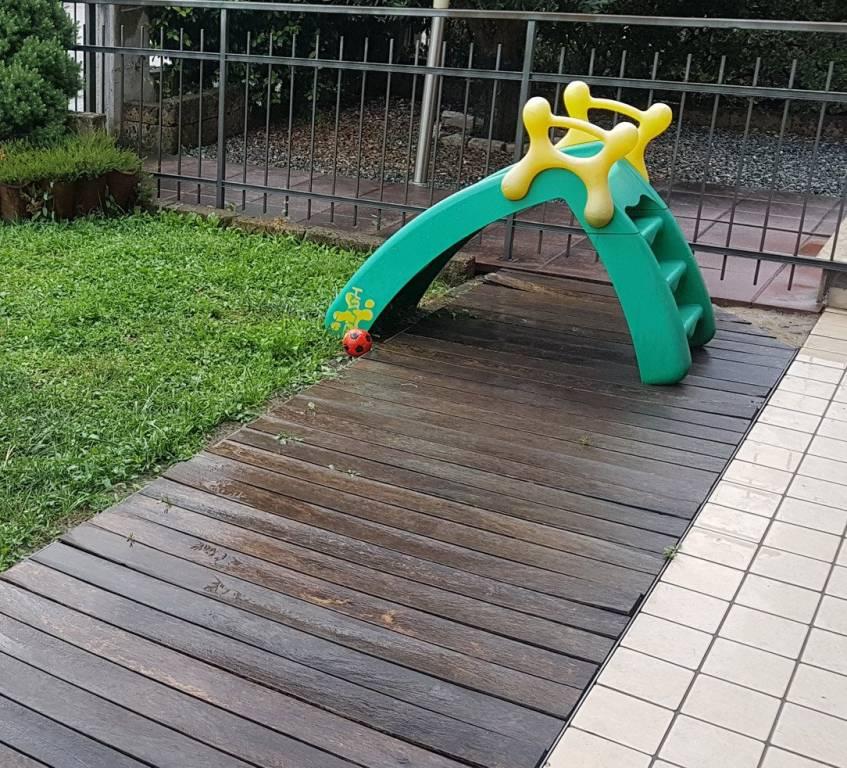 Cogollo bicamere piano terra con giardino privato. Due bagni