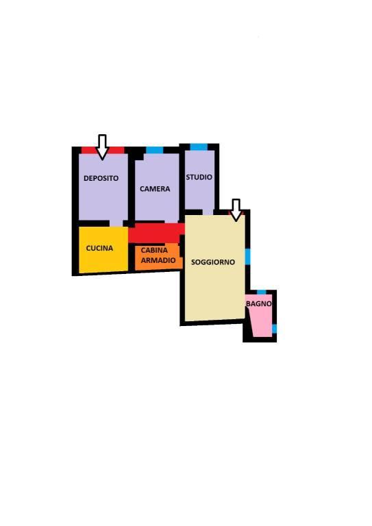 Appartamento in vendita 5 vani 75 mq.  via San Vitale Bologna