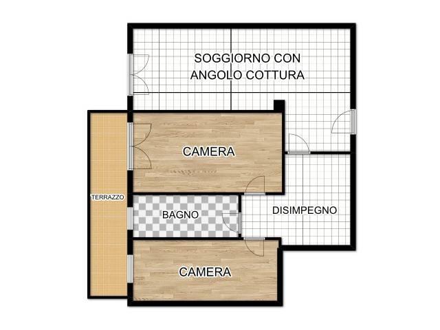 Appartamento in buone condizioni in vendita Rif. 8328414