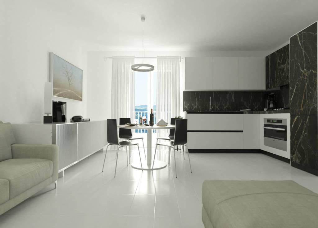 Appartamento con 50 m² di verande