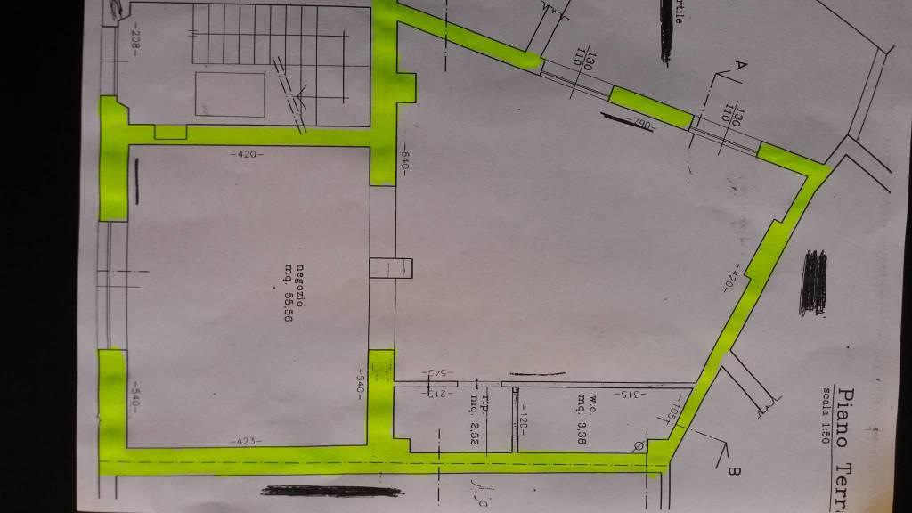 Santarcangelo di r. Negozio / ufficio a pochi passi dalla pi Rif. 9271817