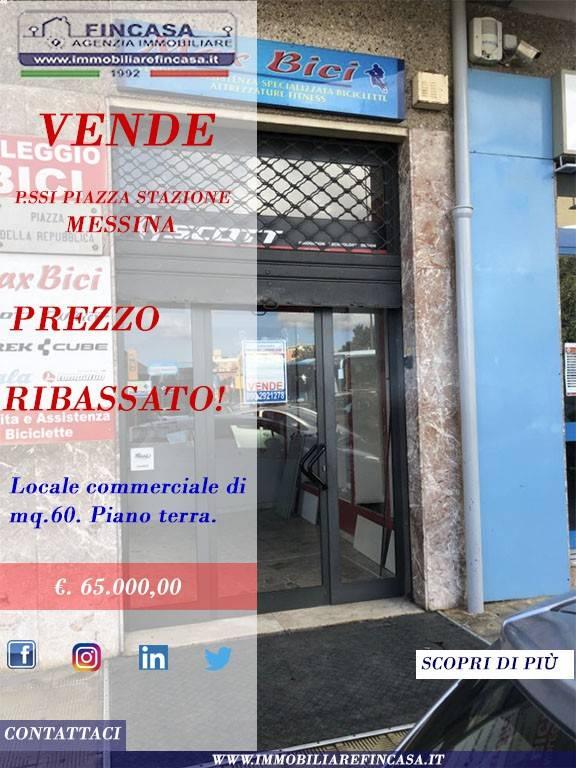 PREZZO RIBASSATO - LOCALE P.SSI PIAZZA STAZIONE (ME) Rif. 8935977