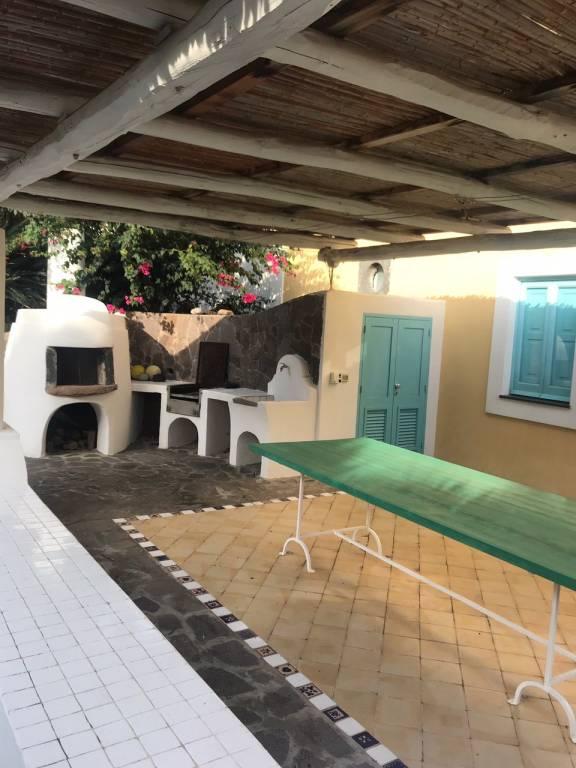 Salina Fraz. Lingua Villa su due livelli con ampie verande, foto 1