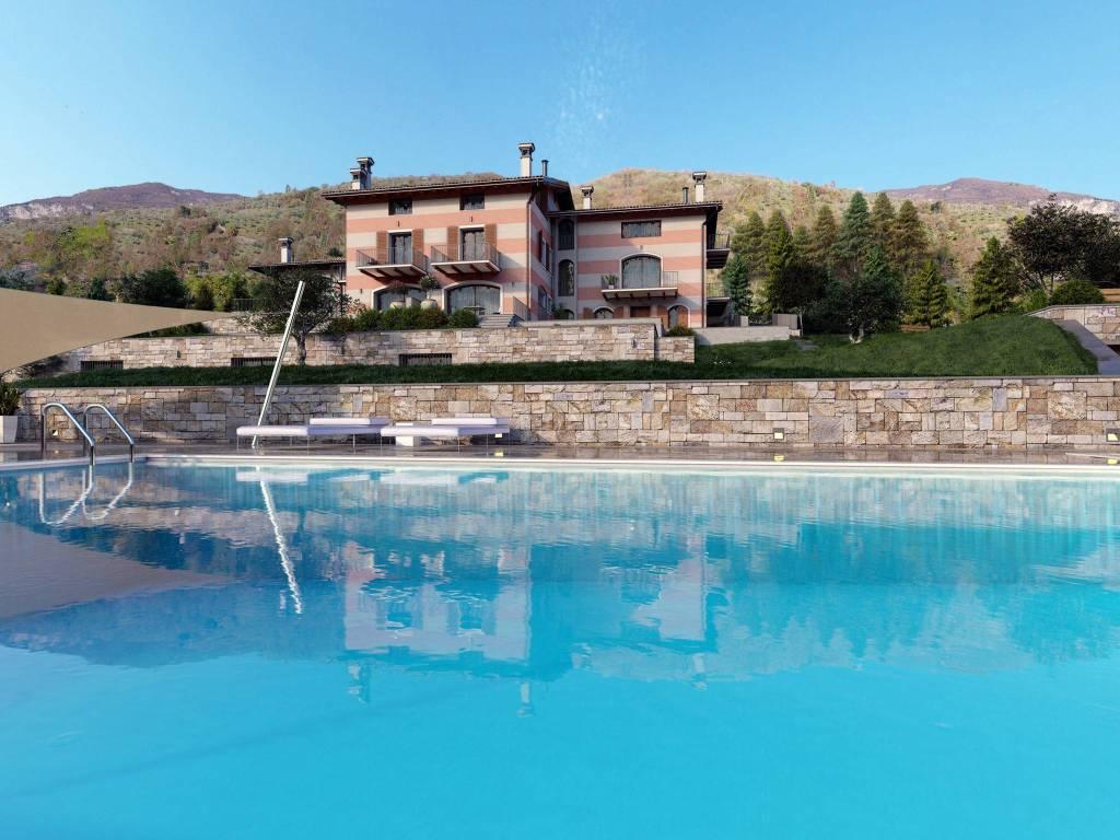 Villa a Schiera in vendita a Parzanica, 3 locali, prezzo € 259.000 | CambioCasa.it