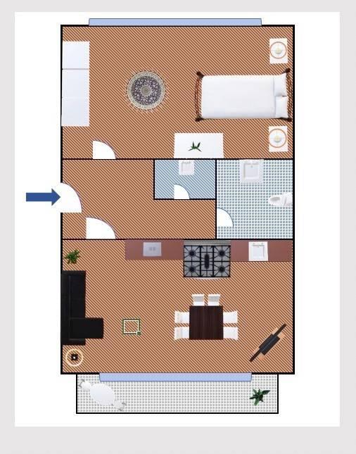 Appartamento in ottime condizioni parzialmente arredato in affitto Rif. 9291664