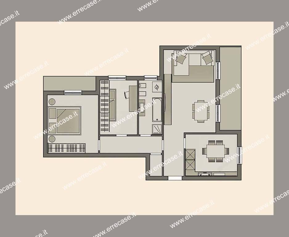 Appartamento in ottime condizioni in vendita Rif. 9318046