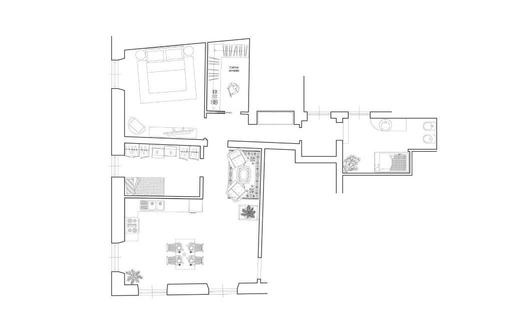 Foto 1 di Appartamento vico di Portanuova, 3, Genova (zona Centro, Centro Storico)