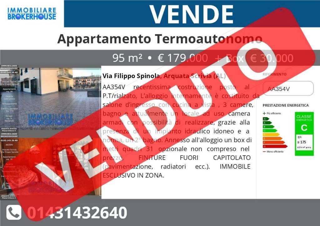 Via F. Spinola Arquata S Appartamento 90 .+ Giardino 270