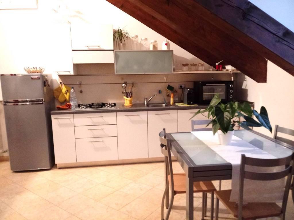 Attico bilocale in affitto a Biella (BI)